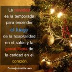 Frases lindas para recibir la navidad 2021