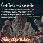 Imagenes con Frases de Felices Fiestas 2019