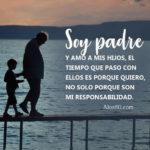 Frases con mensajes bonitos: La responsabilidad y el amor