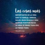 Imagenes bonitas con Frases: La familia es todo