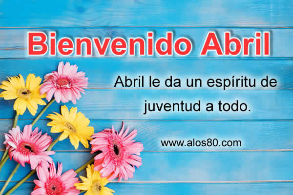 abril frases