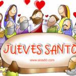 Imagenes de Jueves Santo con mensajes bonitos