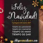 Feliz Navidad y Venturoso Año Nuevo 2021 con Frases