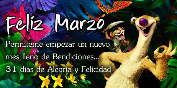 marzo frases