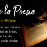 21 de Marzo Dia de la Poesia