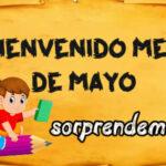 Mensajes de Bienvenido mes de Mayo con imagenes