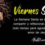 Semana Santa: Viernes santo con frases de Jesus