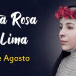 Festividad de Santa Rosa de Lima 2021 - 30 de Agosto