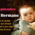 5 de Septiembre: Dia mundial del Hermano